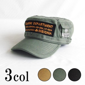 Continuation Canvas Patch Pocket Print Military Cap