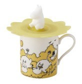 The Moomins Silicone Cup Cover Attached Mug The Moomins