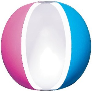 Adult Larger Beach Ball Tricolor Ball