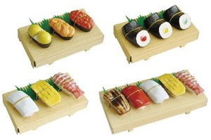 Sushi Chopsticks Stand 3 Pcs Set 3 Types 5 Pcs Set Miscellaneous goods Kitchen Mino Ware