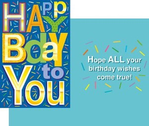 Greeting Card Birthday Message