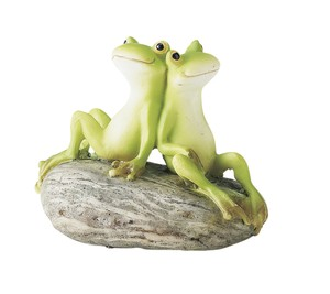 Resin Frog Frog Snuggle? Frog Miscellaneous goods