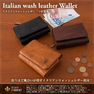 Italian Leather Wallet Wallet Genuine Leather