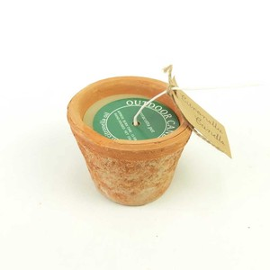 Candle Terracotta Pot Candle
