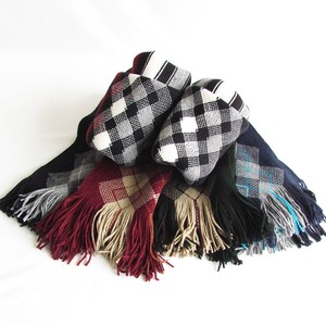2015 A/W Argyle Stripe Scarf Miscellaneous goods