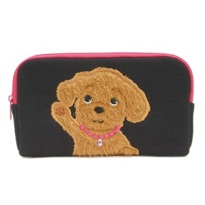 Almighty Pouch Toy Poodle Black