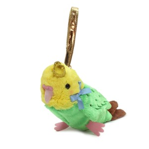 Crowned Pouch Parakeet Green