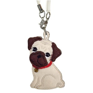 Mobile Phone Cleaner Strap / Pug / Earphone Jack Accessory