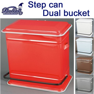 STEP CAN DUAL BUCKET