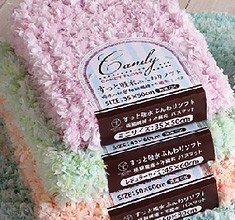 Limit Candy Floss Bath Mat 4 Colors