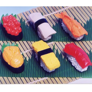 IWAKO Sushi Eraser 60 Pcs Bottle