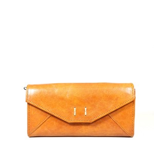 fes Leather Long Wallet