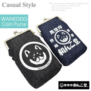 A/W WANKODO Denim Mobile Case Karabiner Attached