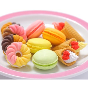 IWAKO Sweets Eraser 10 types 60 Pcs Bottle