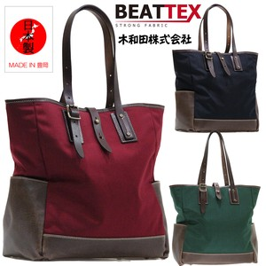 Material Beat Tex Use Combi Bag Genuine Leather Attached Toyooka (Japan)