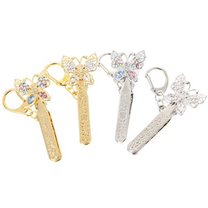 Bag Clip Key Ring Bag Charm Butterfly Butterfly