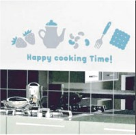 Mini Wall Stickers/ミニウォールステッカー/Happy Cooking Time