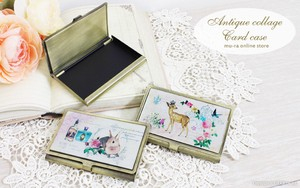 Antique Collage Card Case