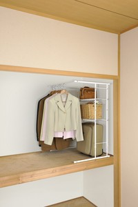 Clothes Hanger Rack Expansion Type