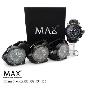 【MAX XL WATCHES】 5-MAX532 5-MAX533 5-MAX534 5-MAX535 腕時計