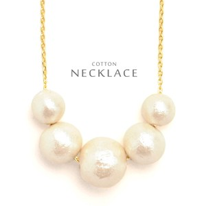 Cotton Pearl Necklace Local Finish Standard