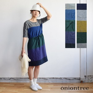 One-piece Dress Border