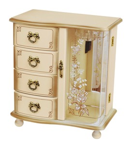 Wooden Jewel Box Ivory Music Box Series
