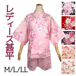 Ladies Jinbei Color Scheme Ladies Japanese Pattern Souvenir Matsuri Event Firework