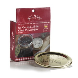 【KILNER/キルナー】Preserve Jar Lid Seals Pack of 12[メイソンジャー]