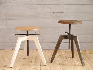 Rank Stool Black