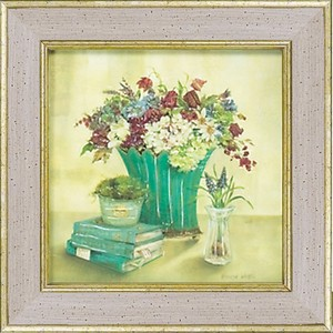 Flower Art United Kingdom Ladies Writer Catherine White Art Frame