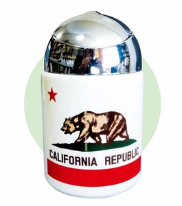CALIFORNIA REPUBLIC ドーム灰皿
