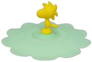 Snoopy Silicone Cup Cover Wood