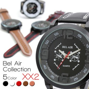 BEL AIR Solid Index Characteristic Casual Men's Wrist Watch
