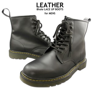 Men's Genuine Leather Upper Boots