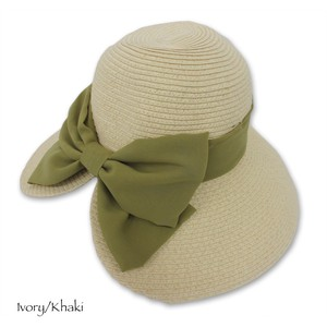 Ladies Chiffon Ribbon Down Hat