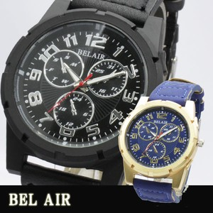 【Bel Air Collection 】圧倒的な重厚感 ビッグフェイス メンズ 腕時計 XX6