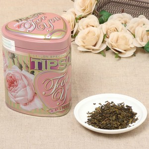 【For You】セイロン緑茶 ピンク(茶葉75g入り)【ギフト/紅茶】