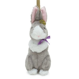 Crown Pouch Gray Bunny