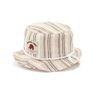 Kids Stripe Safari Hat