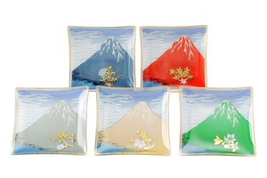 Serving Plate Fuji Mt. Fuji Glass Gift Set