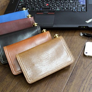 Tochigi Leather Oil Beast Oil Leather Middle Wallet