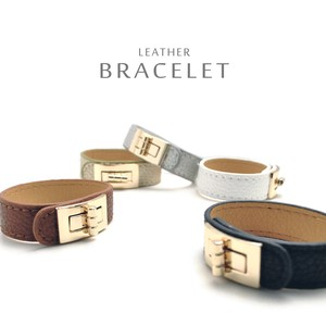 Bangle Bracelet At Hand Leather Pleasant