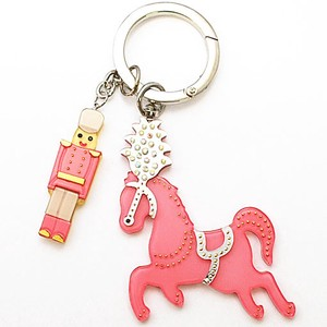 Colorful Acrylic Bag Charm Rocking Horse Gift