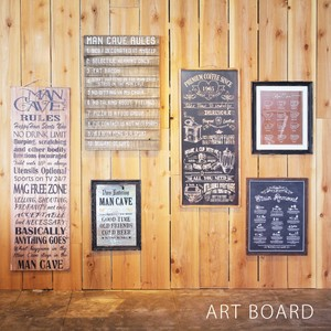 Art Frame Art Board Retro Cafe Interior Items