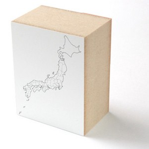 Stamp / Japanese Blank Map 日本白地図