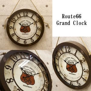 Wall Clock Antique Emboss Clock American Miscellaneous goods