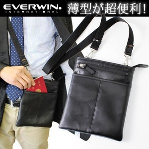 Leather 3WAY Shoulder Bag Men's Business