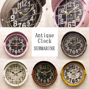 Wall Clock Antique Clock Marine
