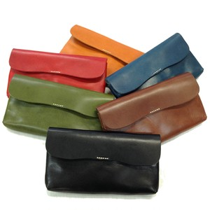 Tochigi Leather Use 5 Colors Color Snap Long Wallet